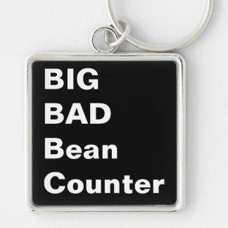 BIG BAD BEANCOUNTER - Humorous Accountant Gift Keychain