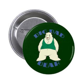 Big Bad Bear Button