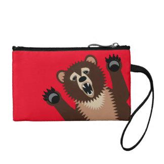 Big Bad Birthday Bear Coin Wallet