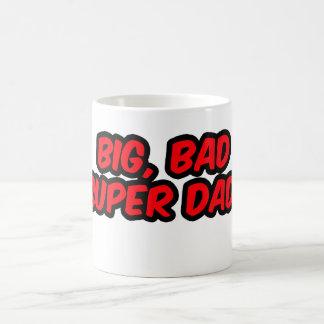 Big, Bad, Super Dad. (Mug) Coffee Mug