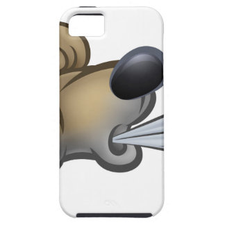 Big Bad Wolf Blowing iPhone SE/5/5s Case