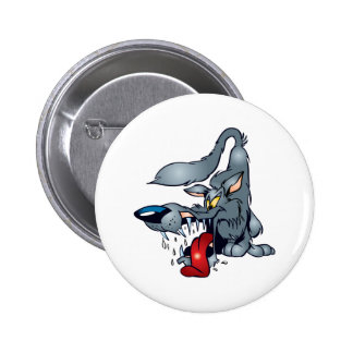 Big Bad Wolf Pinback Buttons