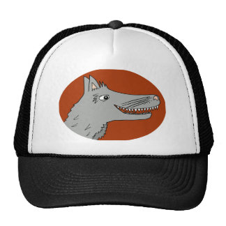 BIG BAD WOLF cartoon storybook red riding hood Trucker Hat