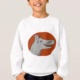 BIG BAD WOLF cartoon storybook red riding hood Sweatshirt