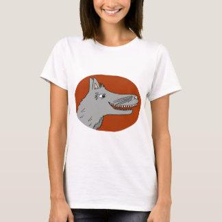 BIG BAD WOLF cartoon storybook red riding hood T-Shirt