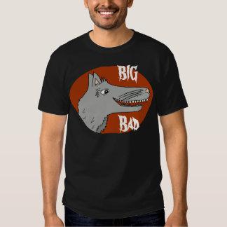 BIG BAD WOLF cartoon storybook red riding hood T Shirt