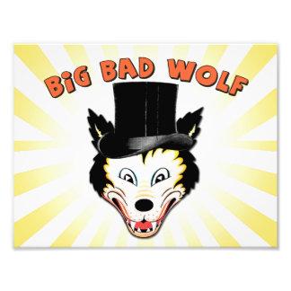 Big Bad Wolf Character Print