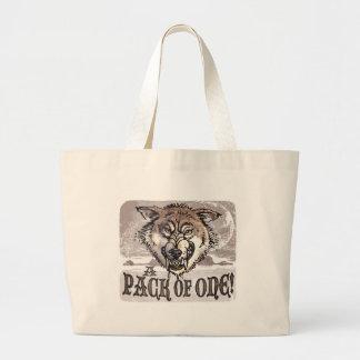 Big Bad Wolf Gear by Mudge Studios Tote Bags