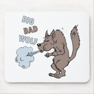 Big Bad Wolf Mouse Pad