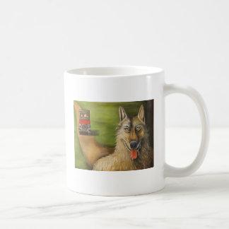 big bad wolf without edge, Big Bad Wolf, By Lea... Classic White Coffee Mug