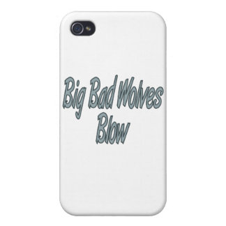 Big Bad Wolves Blow Case For iPhone 4