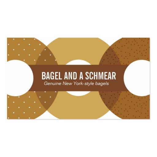 Big Bagels Business Card (front side)