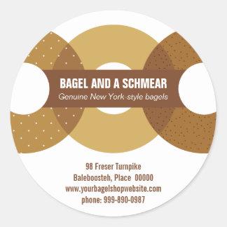 Big Bagels Promotional Sticker