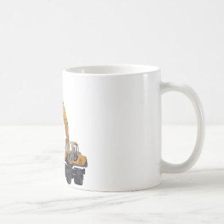 Big Bagger Excavator Classic White Coffee Mug