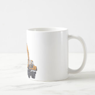 Big Bagger Excavator Coffee Mug