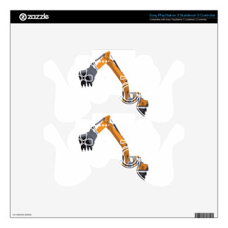 Big Bagger Excavator Decal For PS3 Controller