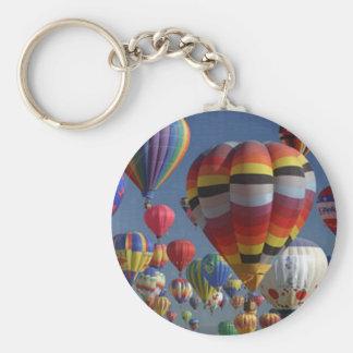 BIG BALLOONS by SHARON SHARPE Keychain