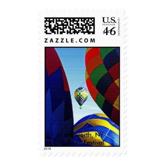 big balloons, Letchworth, NY Balloon Festival stamp