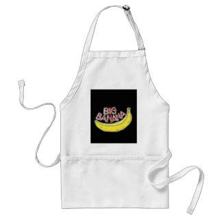 Big banana. adult apron