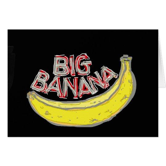 Big banana. card