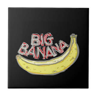 Big banana. ceramic tiles