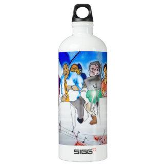 Big Band Music Aluminum Water Bottle