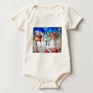 Big Band Music Baby Bodysuit