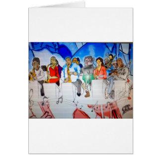 Big Band Music Card