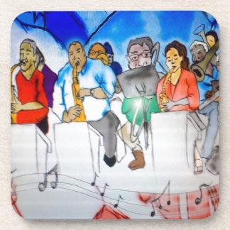 Big Band Music Drink Coaster