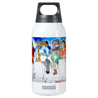 Big Band Music Insulated Water Bottle