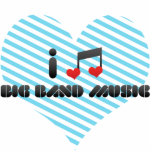 Big Band Music Photo Cutouts