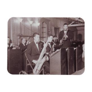 Big Band Photograph 1920s Flex Magnet