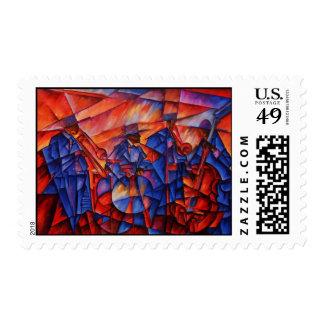 Big Band Postage Stamp