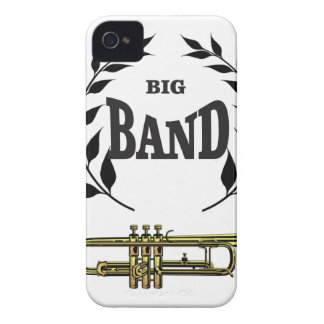 big band trumpet iPhone 4 case