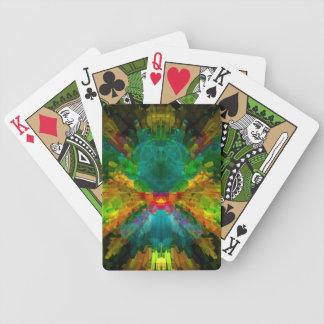 Big Bang 4 Colorful Energy Abstract Bicycle Playing Cards