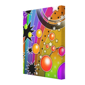 Big Bang Black Hole Gallery Wrapped Canvas