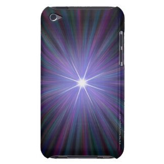 Big Bang, conceptual computer artwork. 2 iPod Touch Cover