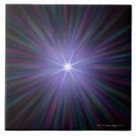 Big Bang, conceptual computer artwork. 2 Tiles