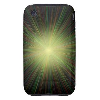 Big Bang, conceptual computer artwork. iPhone 3 Tough Case