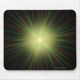 Big Bang, conceptual computer artwork. Mouse Pad