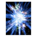 Big Bang del espacio exterior Postales