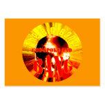 ¡Big Bang! Dios habló y EXPLOSIÓN - de la zona tar Plantillas De Tarjeta De Negocio