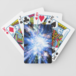 Big Bang from Outer Space Bicycle Playing Cards