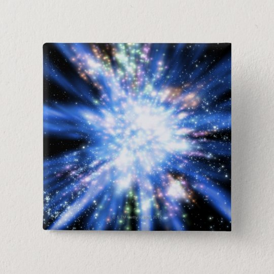 Big Bang from Outer Space Pinback Button