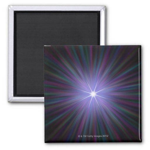 Big Bang, ilustraciones conceptuales del ordenador Imán Cuadrado