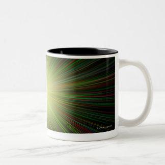 Big Bang, ilustraciones conceptuales del ordenador Taza