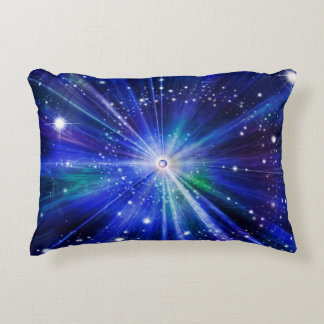Big Bang in the universe Decorative Pillow