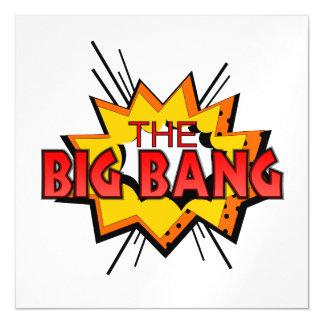 Big Bang Invitaciones Magnéticas