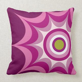Big Bang Magenta Throw Pillow