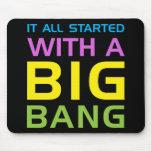 Big Bang Mouse Pad